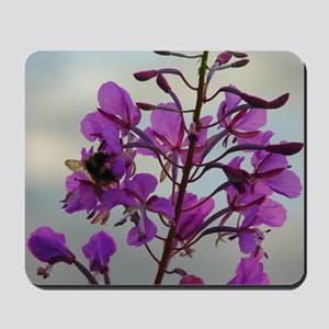 Fireweed Blooms Mousepad
