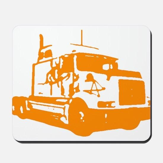 Semi Truck Mousepad