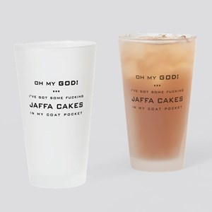 Spaced Jaffa Cakes Drinking Glass