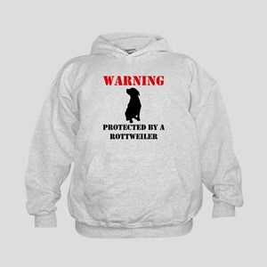 Protected By A Rottweiler Hoodie