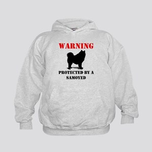 Protected By A Samoyed Hoodie