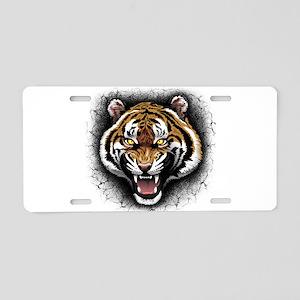 The Tiger Roar Aluminum License Plate
