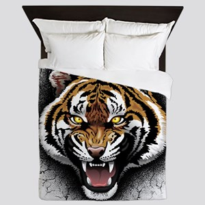 The Tiger Roar Queen Duvet
