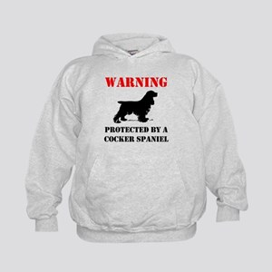 Protected By A Cocker Spaniel Hoodie