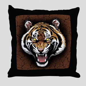 The Tiger Roar Throw Pillow