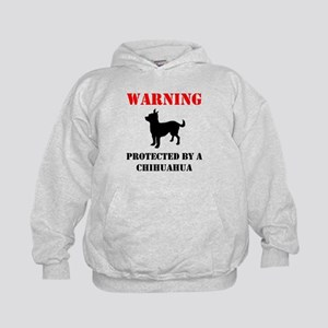 Protected By A Chihuahua Hoodie