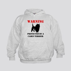Protected By A Cairn Terrier Hoodie