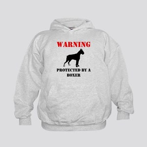 Protected By A Boxer Hoodie