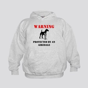 Protected By An Airedale Hoodie