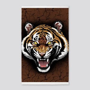 The Tiger Roar 3'x5' Area Rug