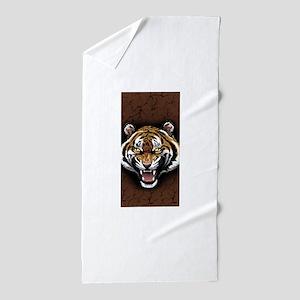 The Tiger Roar Beach Towel