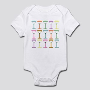 Martini Four Pop Art Martinis Infant Bodysuit