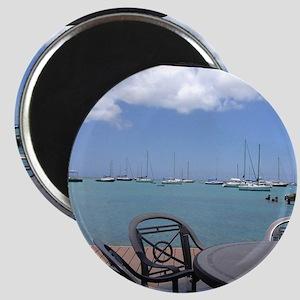 St. Croix USVI Boardwalk Magnet