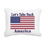 TakeBackAmerica Rectangular Canvas Pillow