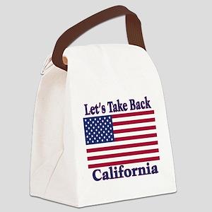 TakeBackCalifornia Canvas Lunch Bag