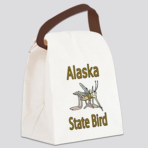 Alaska State Bird Canvas Lunch Bag