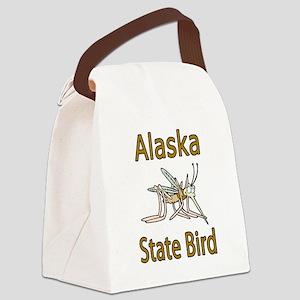 Alaska State Bird Canvas Lunch Bag