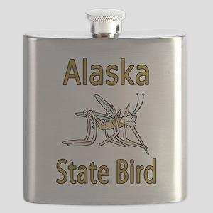 Alaska State Bird Flask
