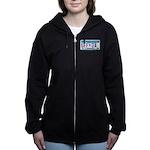 UffdaLicensePlate Women's Zip Hoodie