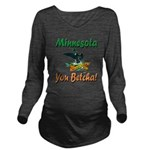 MinnesotaLoon Long Sleeve Maternity T-Shirt