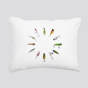 fishclock Rectangular Canvas Pillow