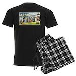 GreetingsfromMinnesota Men's Dark Pajamas
