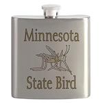Minnesota State Bird copy Flask