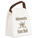 Minnesota State Bird copy Canvas Lunch Bag