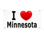 I Love Minnesota Banner