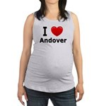 I Love Andover Maternity Tank Top
