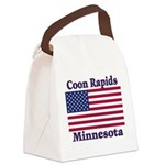I Love Coon Rapids Canvas Lunch Bag