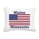 I Love Blaine Rectangular Canvas Pillow