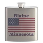 I Love Blaine Flask