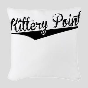 Kittery Point, Retro, Woven Throw Pillow
