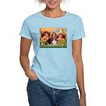 2 Angels & Basset Women's Light T-Shirt