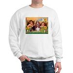 2 Angels & Basset Sweatshirt