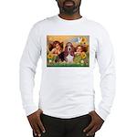 2 Angels & Basset Long Sleeve T-Shirt