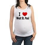 I Love WSP Maternity Tank Top