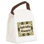I Love Apple Valley Canvas Lunch Bag