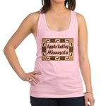 I Love Apple Valley Racerback Tank Top