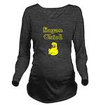 I Love Eagan Long Sleeve Maternity T-Shirt