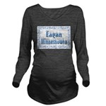 EaganMinnesnowta Long Sleeve Maternity T-Shirt