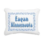 EaganMinnesnowta Rectangular Canvas Pillow