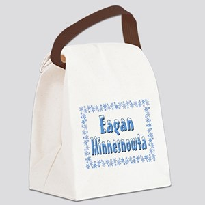 EaganMinnesnowta Canvas Lunch Bag