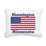 I Love Bloomington Rectangular Canvas Pillow
