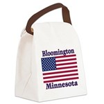 I Love Bloomington Canvas Lunch Bag