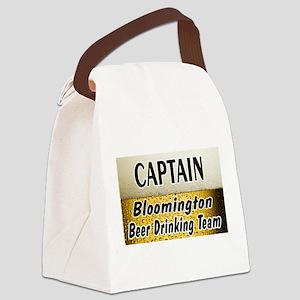 BloomingtonBeer2 Canvas Lunch Bag