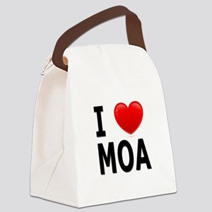 I Love MOA Canvas Lunch Bag
