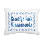 BrooklynParkMinnesnowta Rectangular Canvas Pil