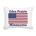 I Love Eden Prairie Rectangular Canvas Pillow